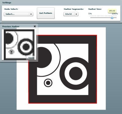 ARToolKit Marker Generator Online released!